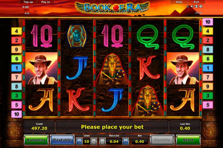 Spiele Book Of Ra